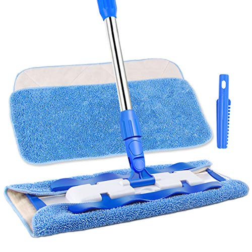 10 Best Spray Mop 2018 Top Microfiber Mops For Hardwood